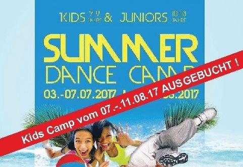 Summer Dance Camp 2017 Quadrat