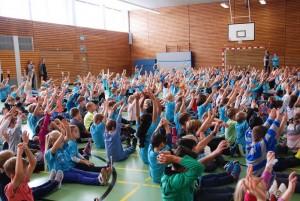 Tanzen macht Stark 2017: Florenbergschule Pilgerzell